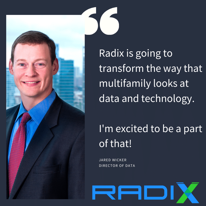 Q&A with Jared Wicker, Director of Data at Radix