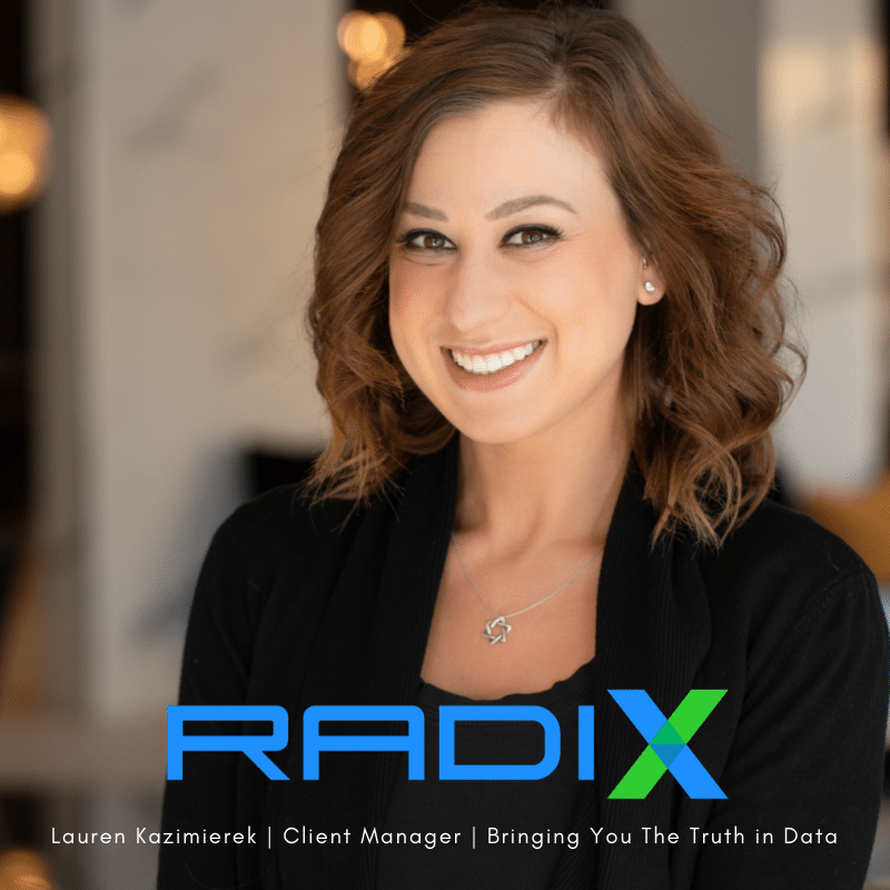 Lauren Kazimierek, Client Manager for Radix